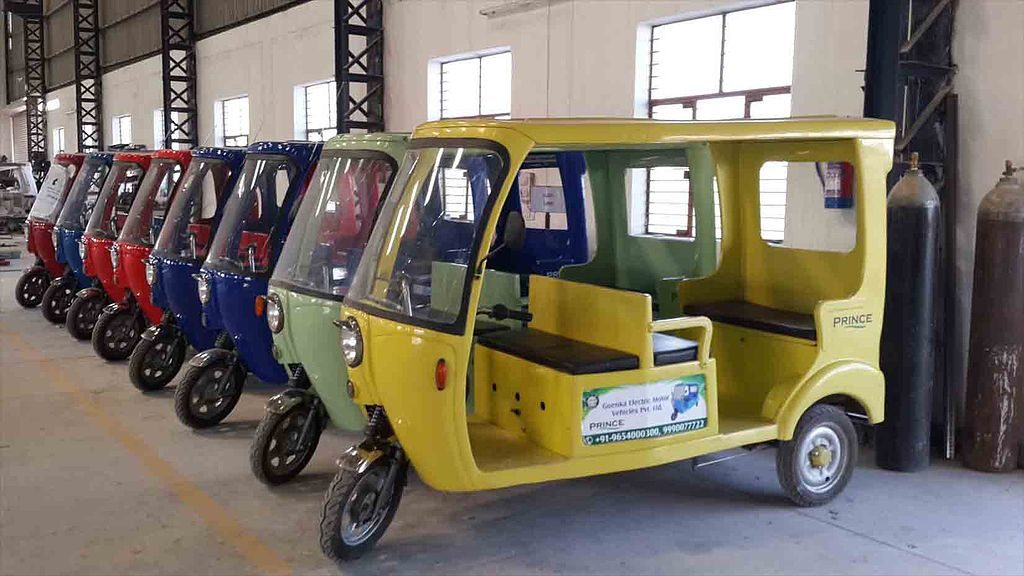 Electric rickshaws for sale